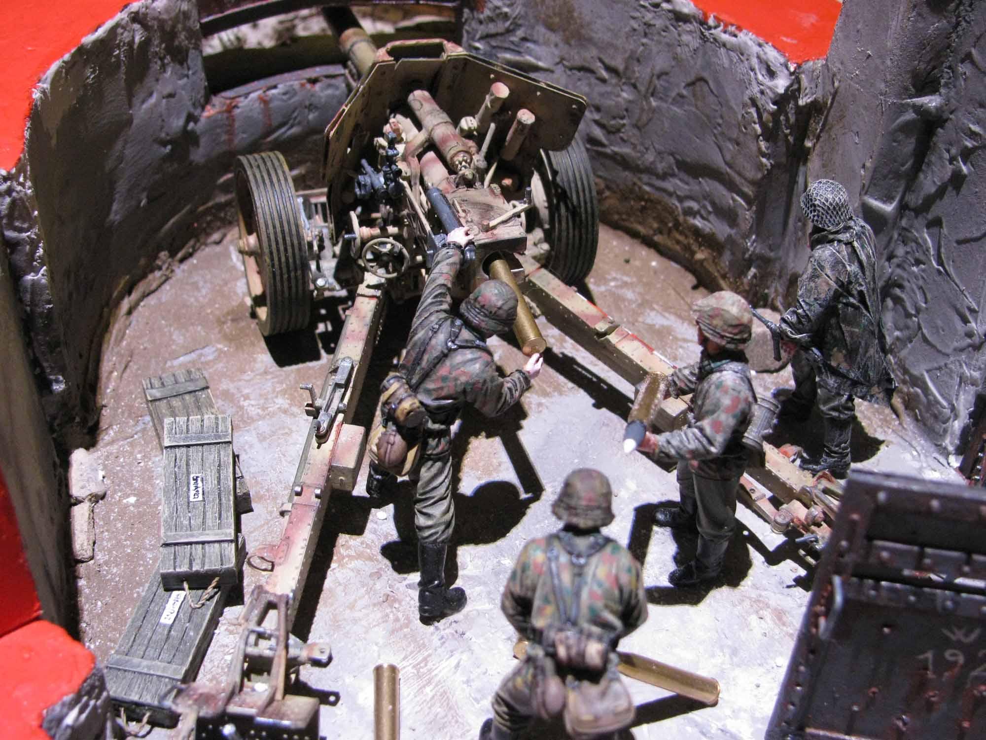 Costruzione di un diorama nel deserto zimmerit forum for Costruzione di un soppalco nel garage
