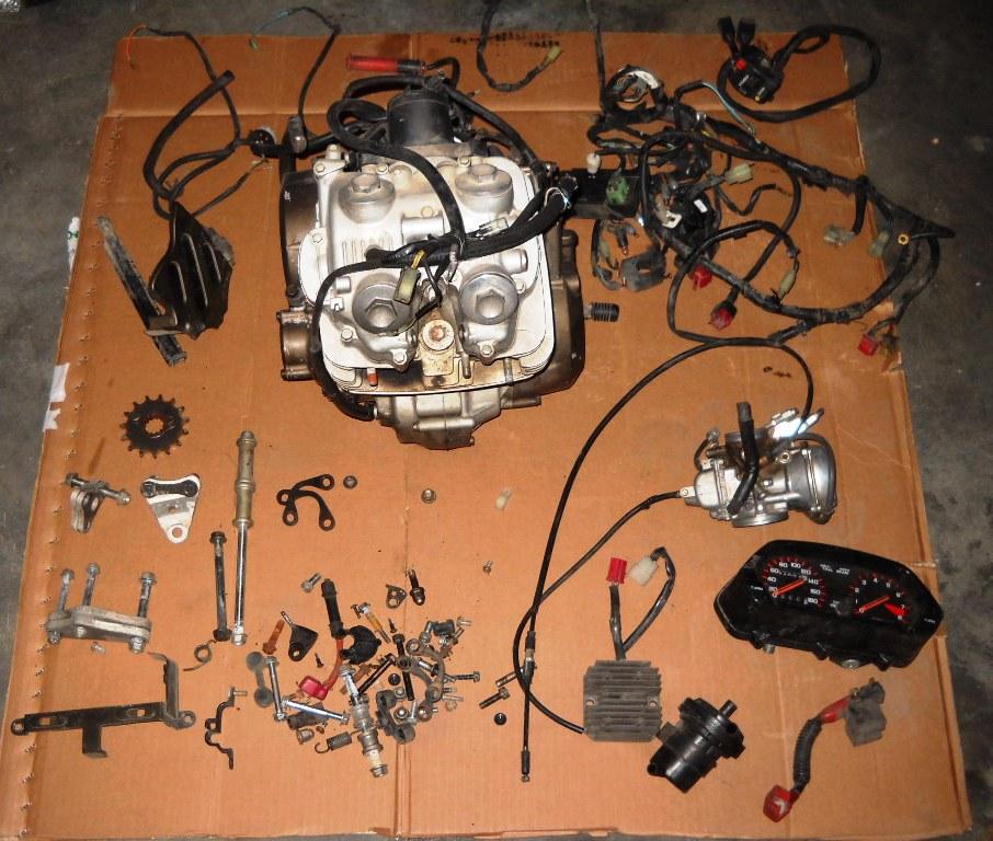 Schema Elettrico Honda Hornet 600 : Schema elettrico xr fare di una mosca