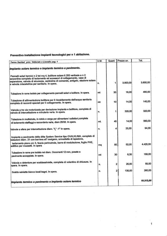 Casa moderna roma italy preventivo lavori casa - Esempio preventivo ristrutturazione casa ...