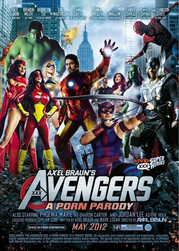 The Avengers XXX: A Porn Parody