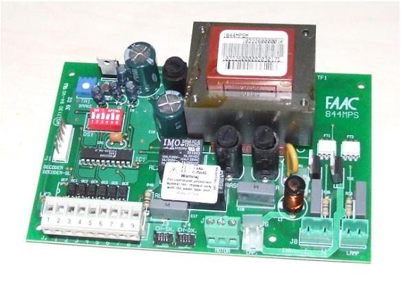Schema Elettrico Scheda Faac 450 Mps : Riparazione schede elettroniche faac mp mps