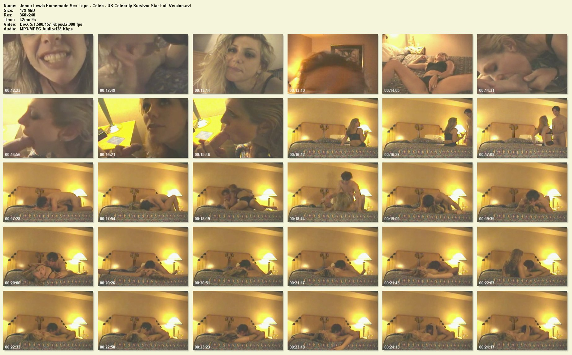 Jenna lewis sex tape review